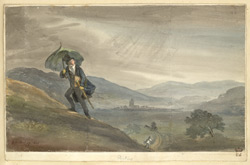 A Rainy Day Above Dorking, 1823